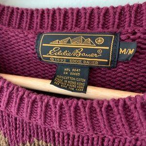 Eddie Bauer Sweaters - Vintage 1992 Eddie Bauer Floral Sweater